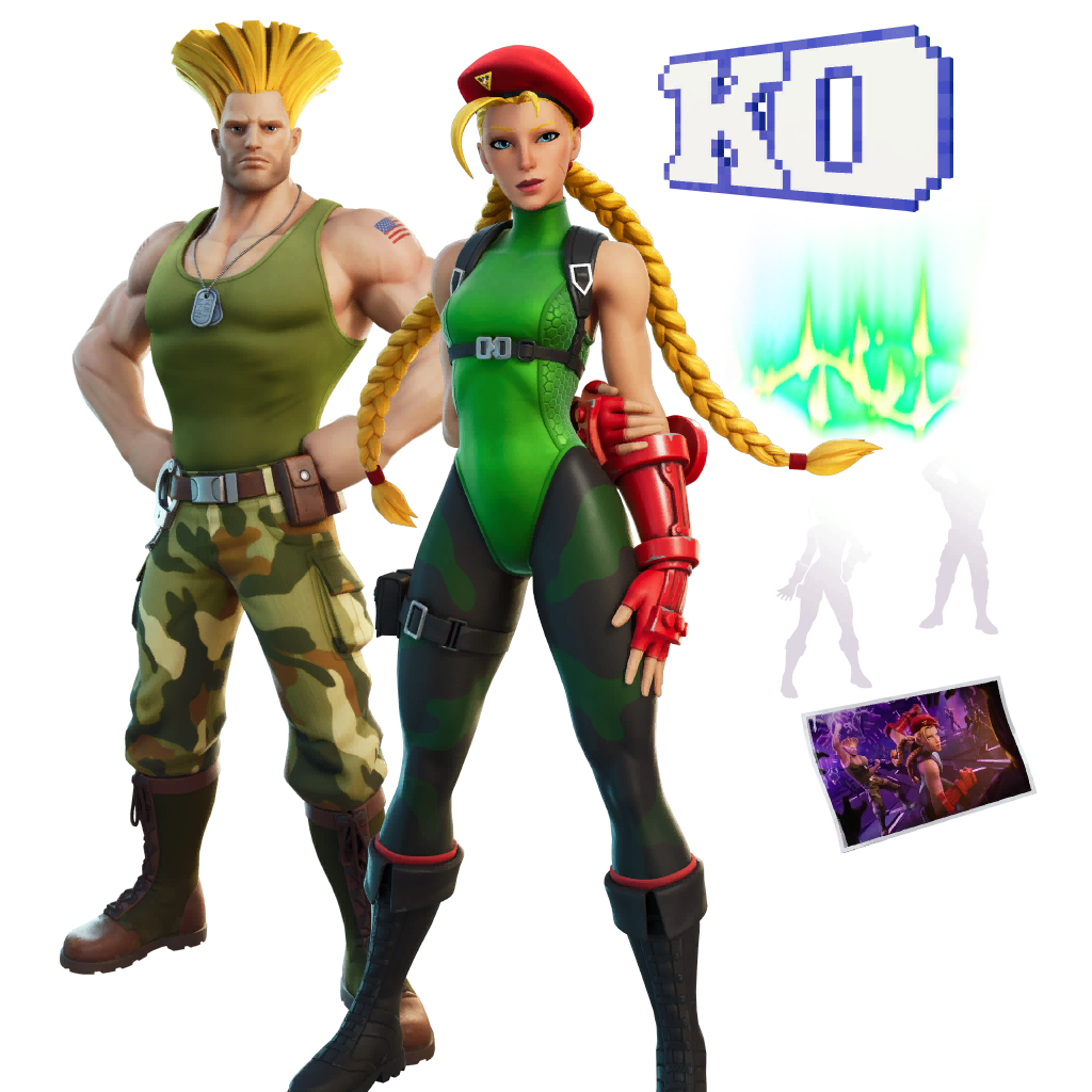 Cammy & Guile