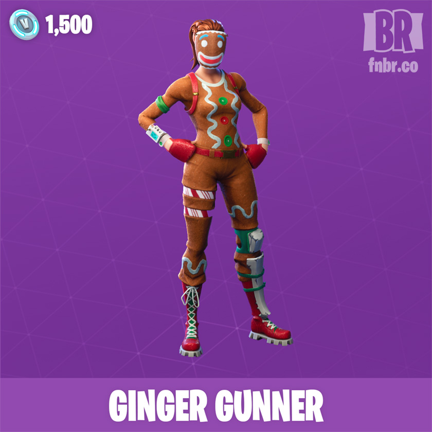 Ginger Gunner Outfit Fnbr Co Fortnite Cosmetics