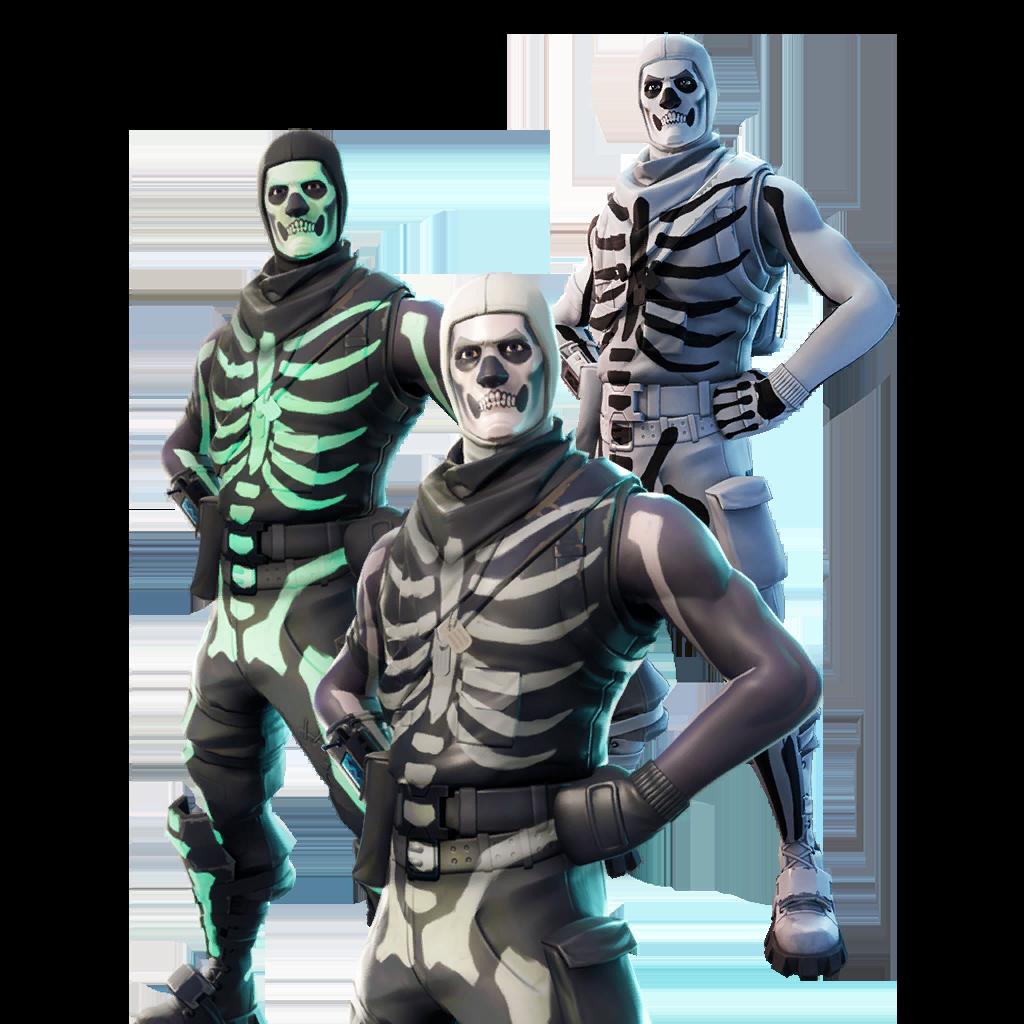 skull trooper backpack