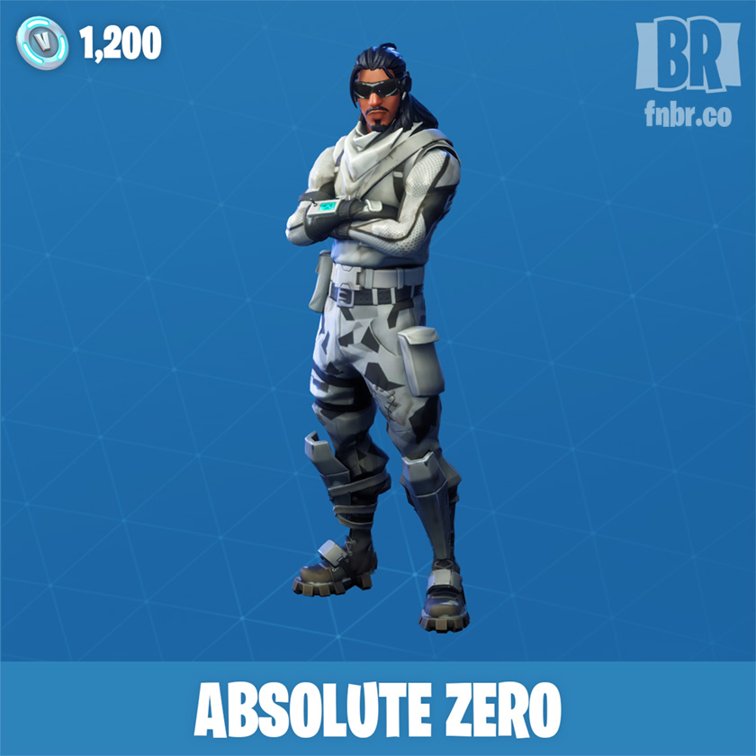 Absolute Zero Outfit Fnbr Fortnite Cosmetics