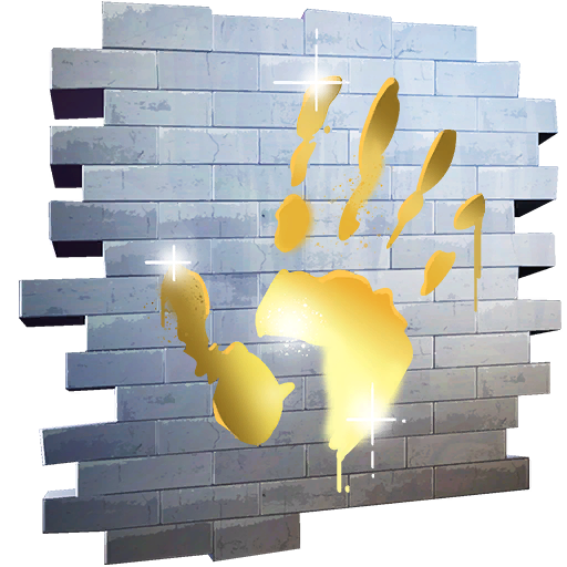 Gold Touch Spray Fnbr Co Fortnite Cosmetics